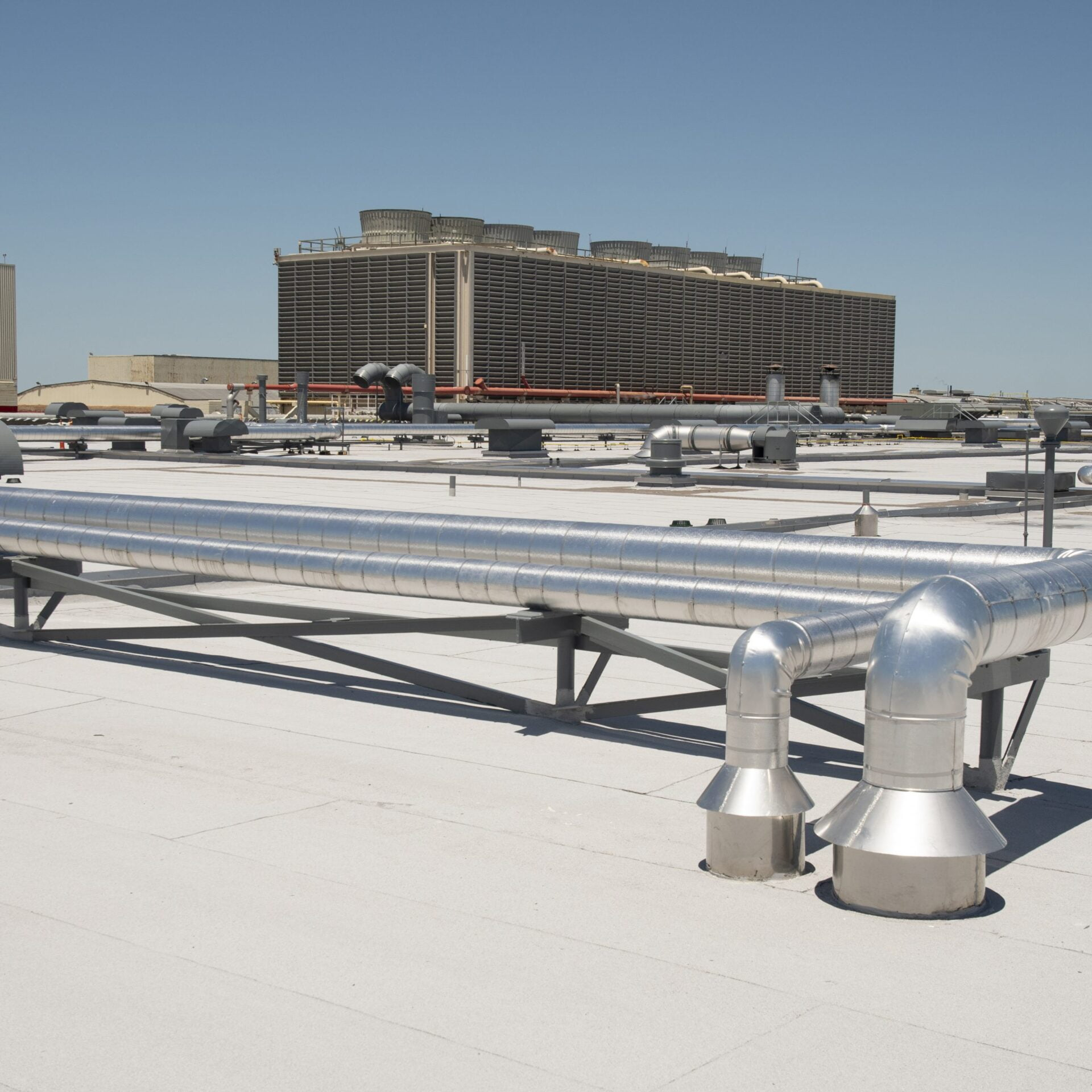 Image shot at American Airlines Plant, Completed Shots, Tulsa, Oklahoma, May 21, 2020, Jeffrey Parr/Supreme Roofing