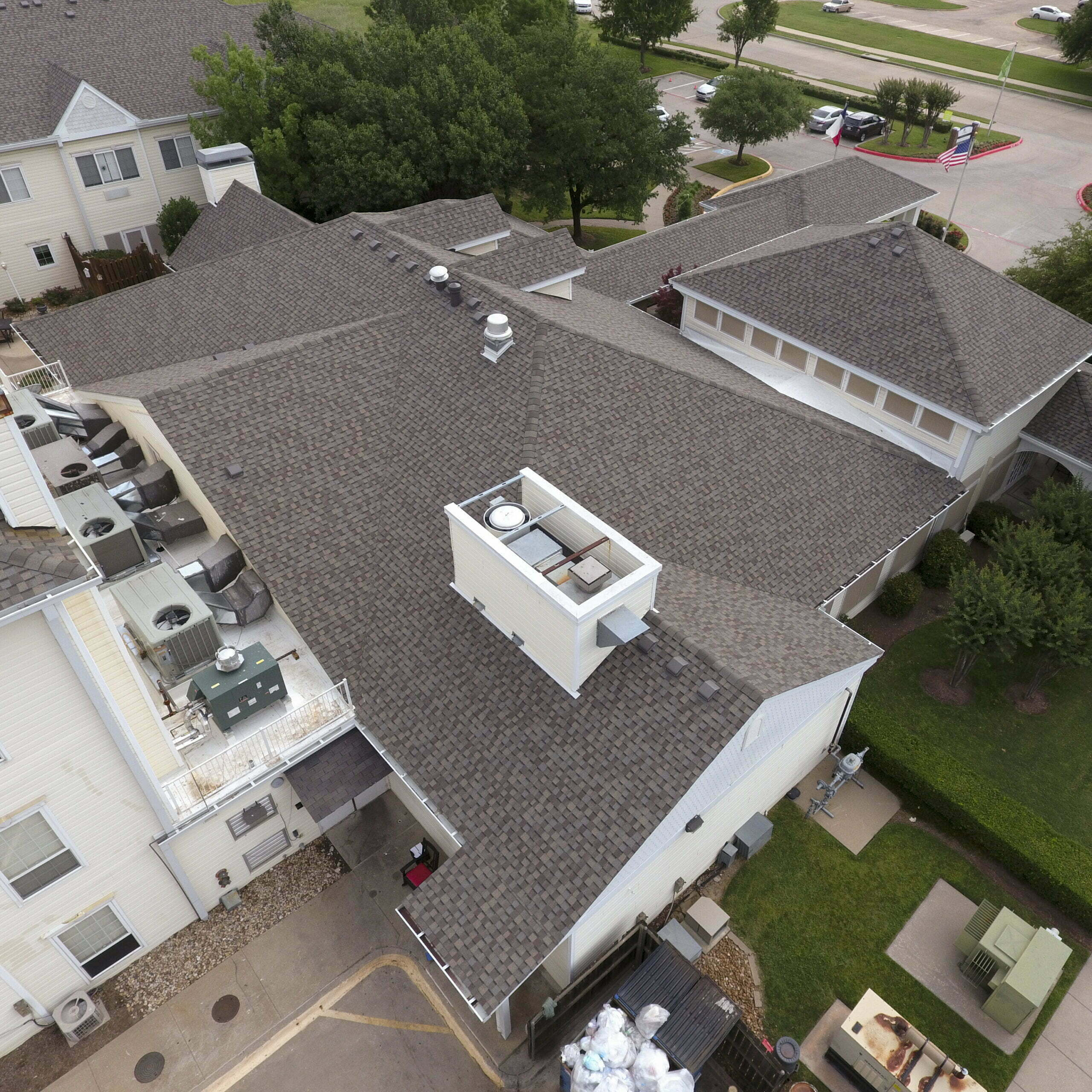 Image shot at Atria, Completed Drone Shots, Carrollton, Texas, June 1, 2020, Jeffrey Parr/Supreme Roofing