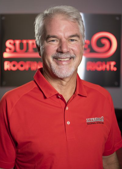 Image shot at Supreme Roofing Colorado, Staff Portraits, George Bollinger, Englewood, Colorado, August 22, 2019, Jeffrey Parr/Supreme Roofing