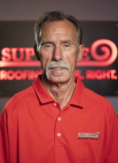 Image shot at Supreme Roofing Colorado, Staff Portraits, Larry Horne, Englewood, Colorado, August 22, 2019, Jeffrey Parr/Supreme Roofing