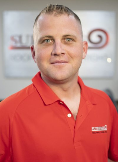 Image shot at Supreme Roofing Dallas, Staff Portraits, Cody Maresh, August 29, 2019, Dallas, Texas, Jeffrey Parr/Supreme Roofing