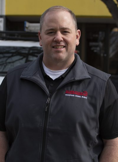 Image shot at Supreme Roofing, Ryan Plunkett Photoshoot, Englewood, Colorado, March 10, 2021, Jeffrey Parr/Supreme Roofing